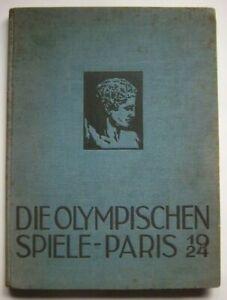 Original and Official Report   VIII.Olympic Games PARIS 1924  !!  EXTREM RARITY