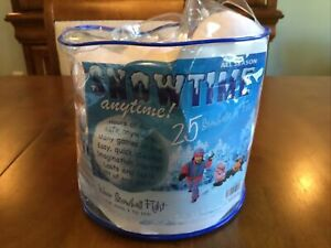 Indoor Snowball Fight SNOWTIME ANYTIME 21 pk  By Playvisions All Ages