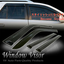 Window Vent Visors Wind Deflector Shade Ford Focus Hatchback 2012 2013 2014