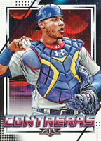 Willson Contreras 2020 Topps Fire #10 Chicago Cubs