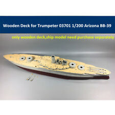 Wooden Deck for Trumpeter 03701 1/200 Scale USS Arizona BB-39 Model