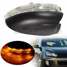 Right Driver Side Mirror Indicator LED Turn Signal Lights For 09-12 VW Golf MK6