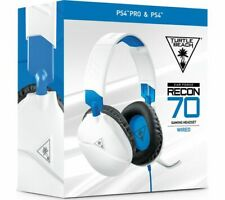 Turtle Beach Ear Force Recon 70P Headset for Sony PlayStation PS4 Gaming White