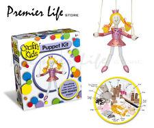Crafty Kids Puppet Kit Fairy Princess - Paul Lamond