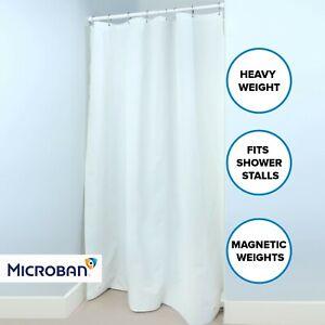 "White Mildew Resistant Heavyweight PEVA Shower Stall Curtain Liner (54"" x 78"")"