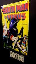 Earth Man on Venus Comic  in 3-D large 11x17