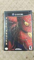 Spider-Man 2 (Nintendo GameCube, 2001)(S6-C1)
