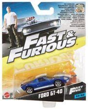 Articoli di modellismo statico blu Mattel per Ford
