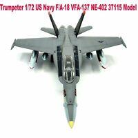 Easy Model 37115 1/72 US Navy F/A-18 Super Hornet Strike Fighter Plastic Model