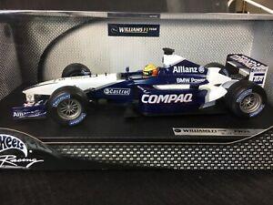 Hot Wheels #5 BMW Williams F1 FW24 Ralf Schumacher 1:18 Diecast Sealed Box