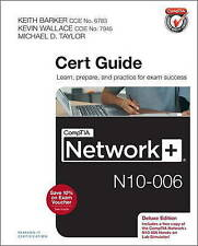 NEW CompTIA Network+ N10-006 Cert Guide, Deluxe Edition by Keith Barker
