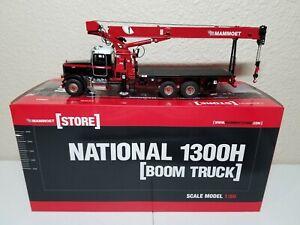 Peterbilt 357 National 1300H Boom Truck - Mammoet Sword 1:50 Model #410014 New!