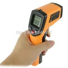 LASER LCD IR infrarosso termometro digitale Contatore di calore misura della temperatura Gun
