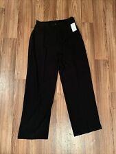 Black Danny & Nicole Size 12 Elastic Waist Dress Pants NWT