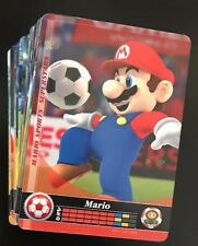 COMPLETE SET Lot of 90 Nintendo Mario Sports Superstars Amiibo Cards Set US NA