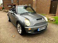 2006 Mini Cooper S 1.6 supercharged Convertible AUTO low mileag SPARES OR REPAIR