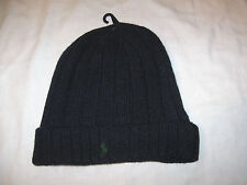 POLO Ralph Lauren Knit Beanie NWT Navy Blue One Size Fits Most
