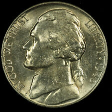Jefferson Nickel, 1946 S Gem BU MS PQ. Lot # 087