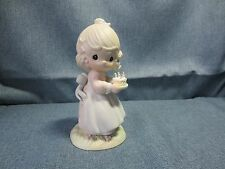 Vintage Precious Moments My Your Birthday Be A Blessing Butcher 524301 ENESCO