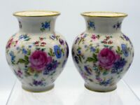2 klein Blumenvasen Porzellanvase Thomas Porzellan Tischvase [Str-20-177