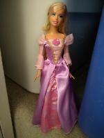 Barbie In Rapunzel with closet