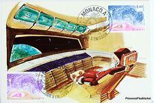 Yt 1249 NOEL  1980    MONACO CARTE MAXIMUM 1° JOUR FCP