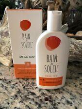 Bain de Soleil Mega Tan Spf4 Sunscreen with Self Tanner New in box