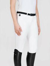 Equiline Damenreithose, Kniebesatz Stoff , weiß, Gr.80 Boston UVP 159,90€