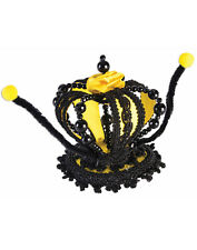 Bumble Bee Womens Adult Insect Queen Costume Crown Accessory
