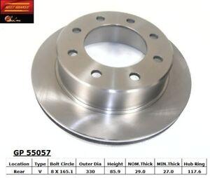 Disc Brake Rotor-GAS Rear Best Brake GP55057
