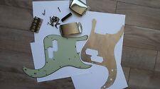 64 Fender Precision Bass Body parts Pickguard celluloid bridge shield covers 60s