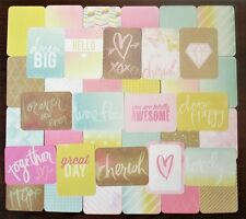 Project Life DREAMY Core Kit Partial 76 Cards Becky Higgins