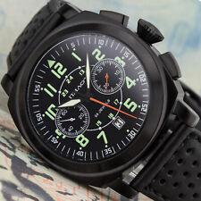 Big Russian Pam Poljot 3133 Chronograph Aviator Watch Analog Watch Avia Classic