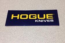 Hogue Knives Knife Grip Grips Rifle Pistol Gun OEM Original Vinyl Decal Sticker