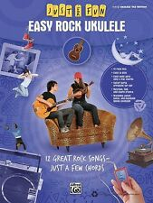 Easy Rock Ukulele Sheet Music Just for Fun Series Ukulele Book NEW 000322274