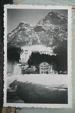 """1930/40er -""""BLICK AUF DIE ZUGSPITZBAHN-TALSTATION & HOTEL IM WINTER"""""""