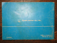 81 HONDA CM200T TWINSTAR NOS ORIGINAL OEM OWNER'S DRIVERS MANUAL CM200 T CM 200T