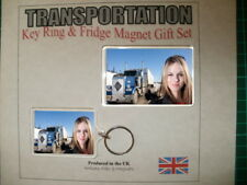 "Ice Road Truckers ""Lisa"" Key Ring & Fridge Magnet Set"