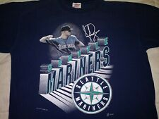 Vintage Seattle Mariners Jay Buhner Xl Tee Shirt