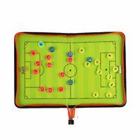 Falt Taktiktafel Fußball Taktikboard Spielfeldtafel Zubehör Board 28*42cm