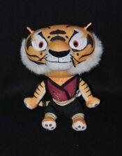 Peluche doudou tigre Kung Fu Panda DREAMWORKS BIG HEADS  22 cm assis NEUF