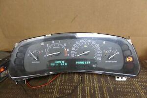 98 99 Buick Park Avenue Speedometer Instrument Cluster 163K Miles 09371584
