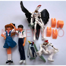 Gashapon Mini Figure PVC Vintage - Set Evangelion