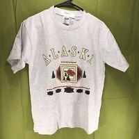 Vintage Alaska Single Stitch Anvil T-Shirt Men's Size Medium