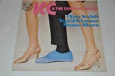"KC & The Sunshine Band - You'd gimme some more - 12"" Maxi Vinyl Schallplatte LP"