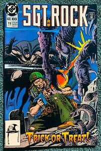 Sgt Rock #19 (DC Comics, December 1991) w/ Batman