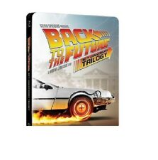 BACK TO THE FUTURE 30th Anniversary Complete Trilogy Steelbook - NEW