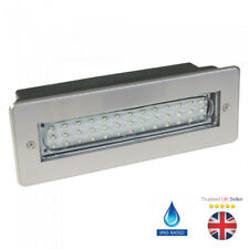 IP65 RECESSED WHITE 2W LED BRICKLIGHT WALL LIGHT STAINLESS STEEL ENERGY SAVING