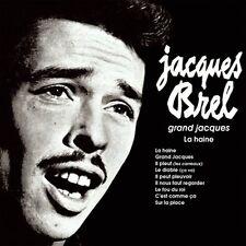 CD JACQUES BREL GRAND JACQUES LA HAINE IL PLEUT LE DIABLE SUR LA PLACE ETC