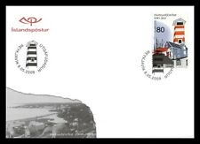 Iceland 2008 FDC, 100th. Anniversary of Hafnarfjörður, Lot # 3.